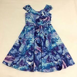 ModCloth Retrolicious Hooved On a Feeling Dress